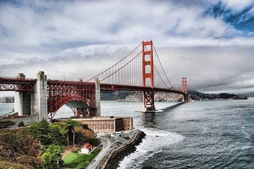 Golden Gate Bridge: Landmarks in USA