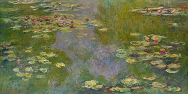 Painting by Fench Impressionist Claude Monet