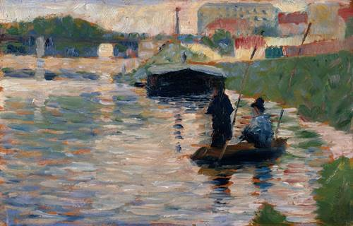 The Seine by Georges Seurat
